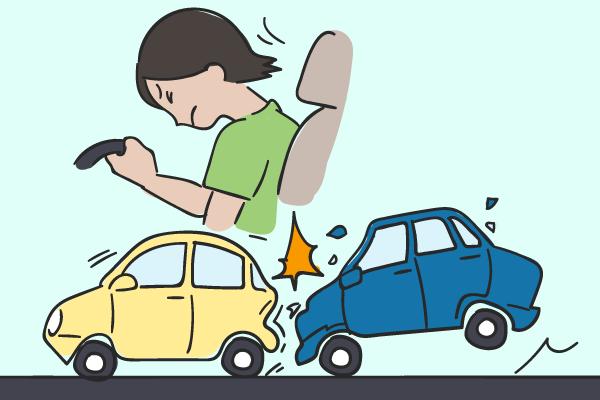 追突事故によるむちうち症